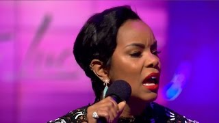 "LeToya Luckett live performance: ""Back 2 Life"""