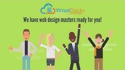 Virtual Stacks Website Design