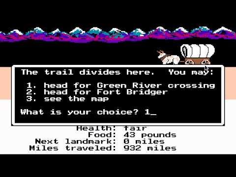 Let's Drown Out... Oregon Trail
