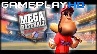 Super Mega Baseball: Extra Innings Gameplay (PC HD) [1080p]