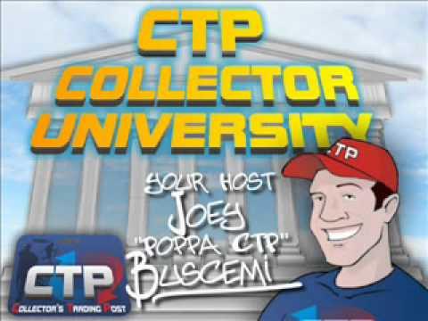 CTP Collectors University Episode 1 -