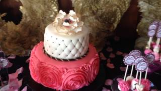 Carly's Bridal-shower dessert table