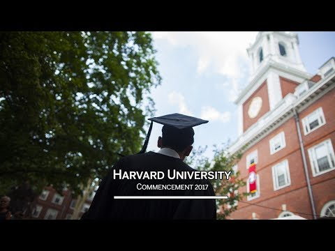 Harvard University Commencement 2017 Morning Exercises