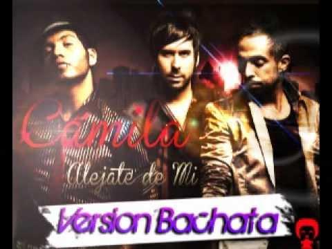 alejate de mi bachata version camila feat lenny santos