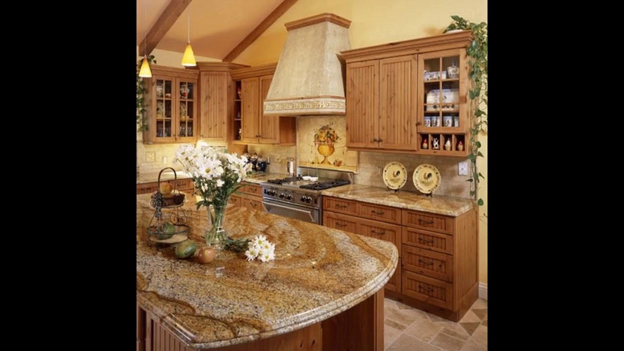 Granit küchenarbeitsplatte design - YouTube