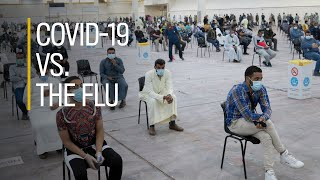 COVID-19 vs. the flu: What are the differences?