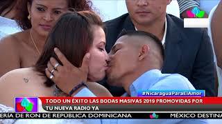 Multinoticias | Todo un éxito las bodas masivas 2019 promovidas por Tu Nueva Radio Ya