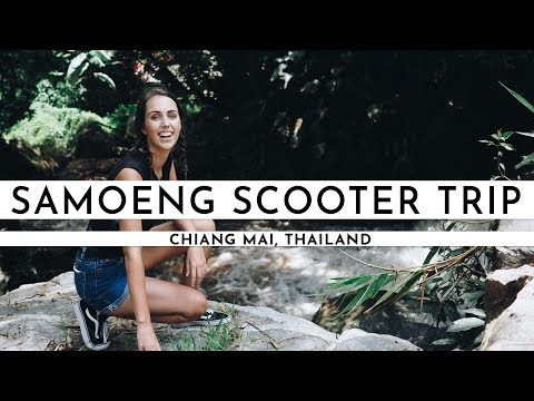 SCOOTER ROAD TRIP ON THE SAMOENG LOOP IN CHIANG MAI | TRAVEL VLOG #28