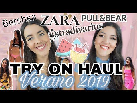 7a4741797dc SUPER TRY-ON HAUL: VERANO 2019 INDITEX (ZARA, PULL&BEAR, BERSHKA,