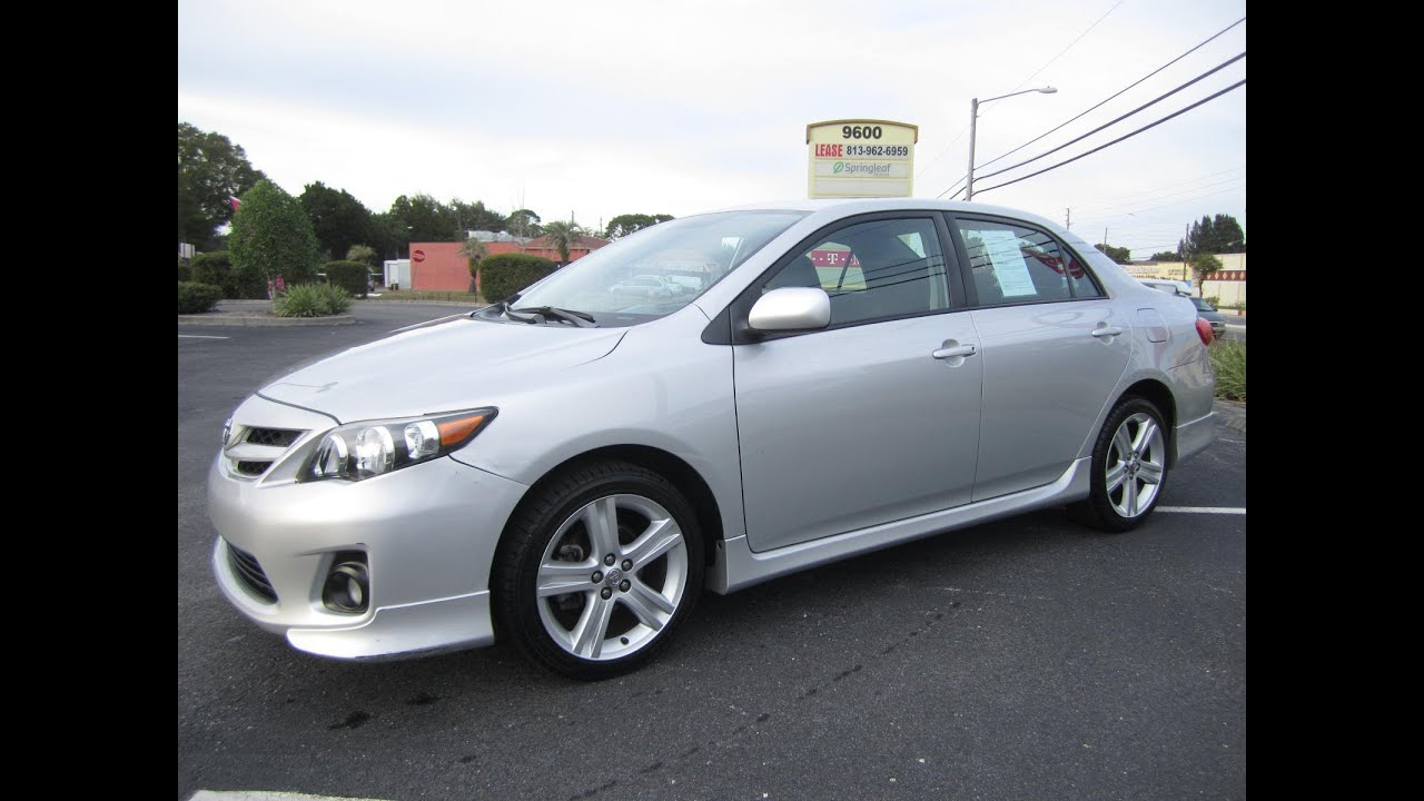 2013 toyota corolla s silver 2013 toyota corolla s 86k miles one owner. Black Bedroom Furniture Sets. Home Design Ideas
