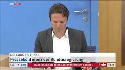LIVE: Die Bundespressekonferenz beantwortet aktuelle Journalistenfragen