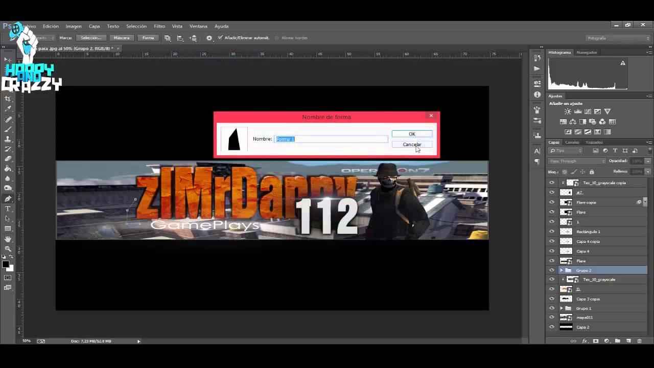 Banner para Youtube | ART | ARTE OPERATION7 LATINO | #29 - YouTube