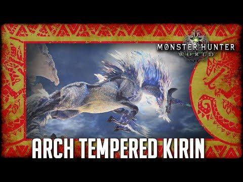 Monster Hunter World: Arch Tempered Kirin [Event] thumbnail