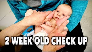2 WEEK OLD NEW BABY CHECK UP (What To Expect) | Dr. Paul
