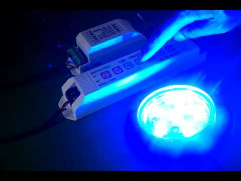 Led Boat Marine Underwater Light in RGB  with Remote Control