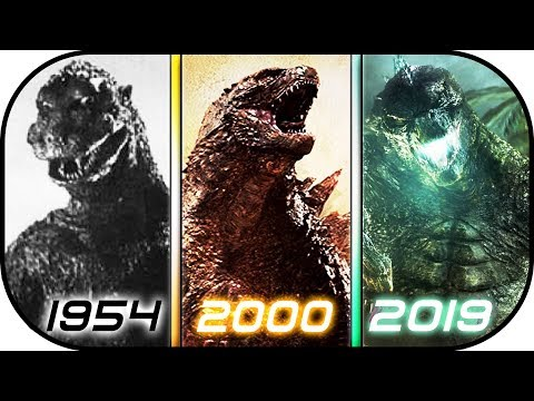 EVOLUTION of GODZILLA in Movies 19542019 Godzilla King of the Monsters 2019 Ready Player One 2018