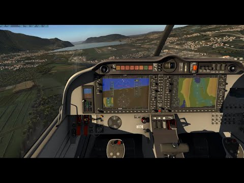 X-Plane 11.31 Tour Of Chambery France With X-Europe 2 & Ortho4XP Scenery In Aerobask Robin DR401