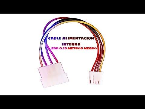 Video de Cable de alimentacion interna FDD 0.15 M Negro