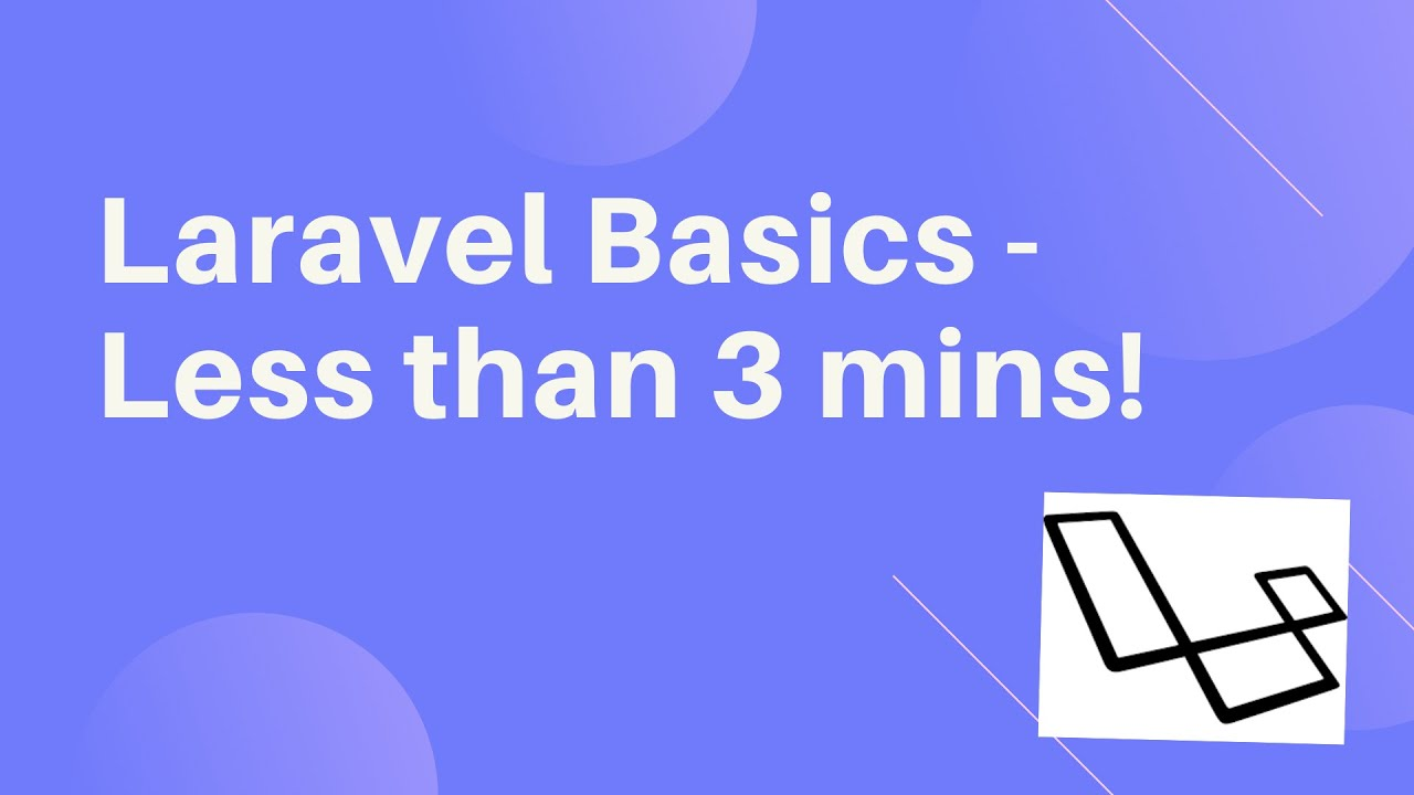 Download Intro To Laravel   What is Laravel and How it Works in less than 3 mins!