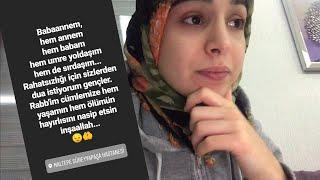 EŞİMİN BABAANNESİ ÇOK HASTA 😓 | EŞİM APAR TOPAR İSTANBUL'A GİTTİ | VLOG