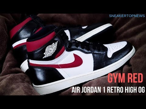 "e168c84a9815 Air Jordan 1 Retro High OG ""Gym Red"" Release Date June 29th"