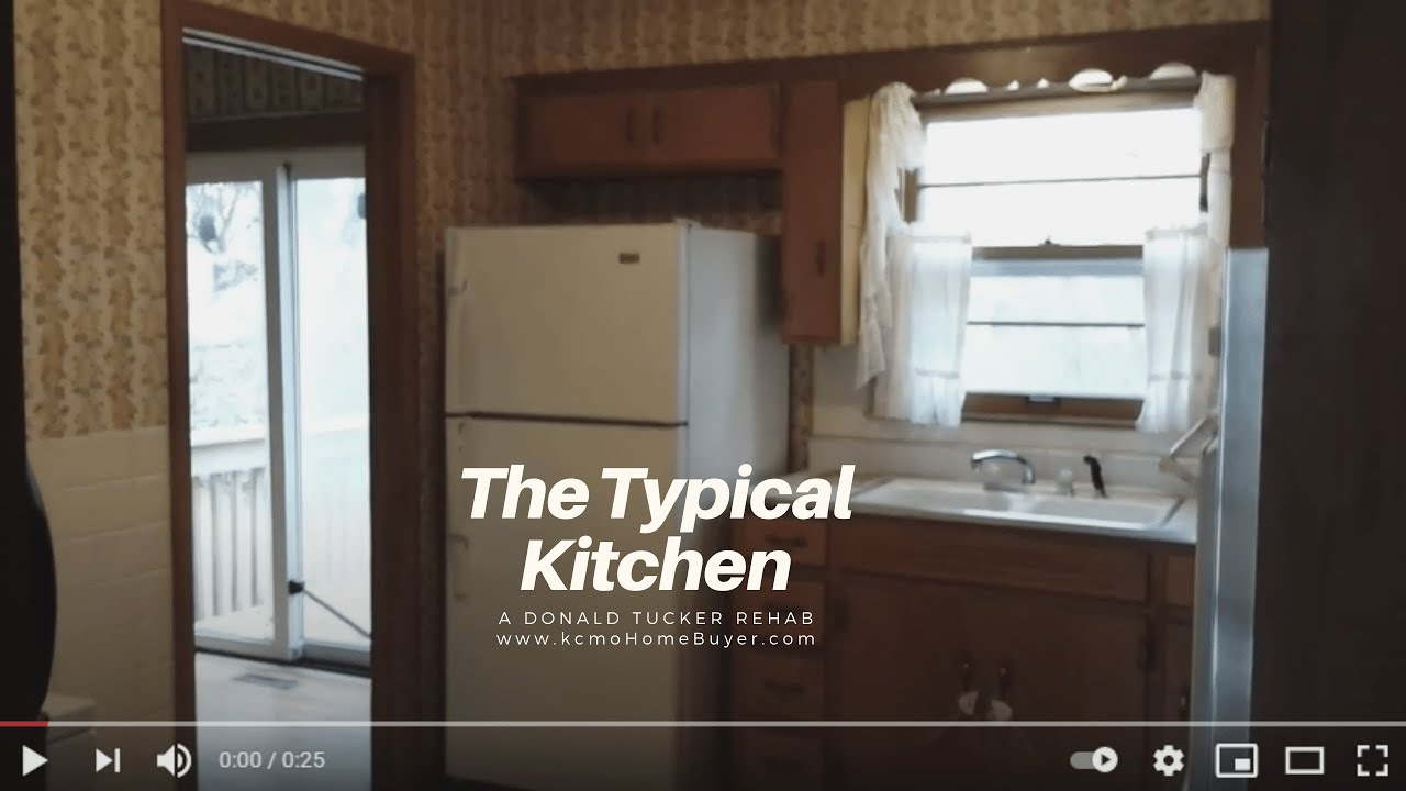 The Typcial Kitchen When We Buy a House