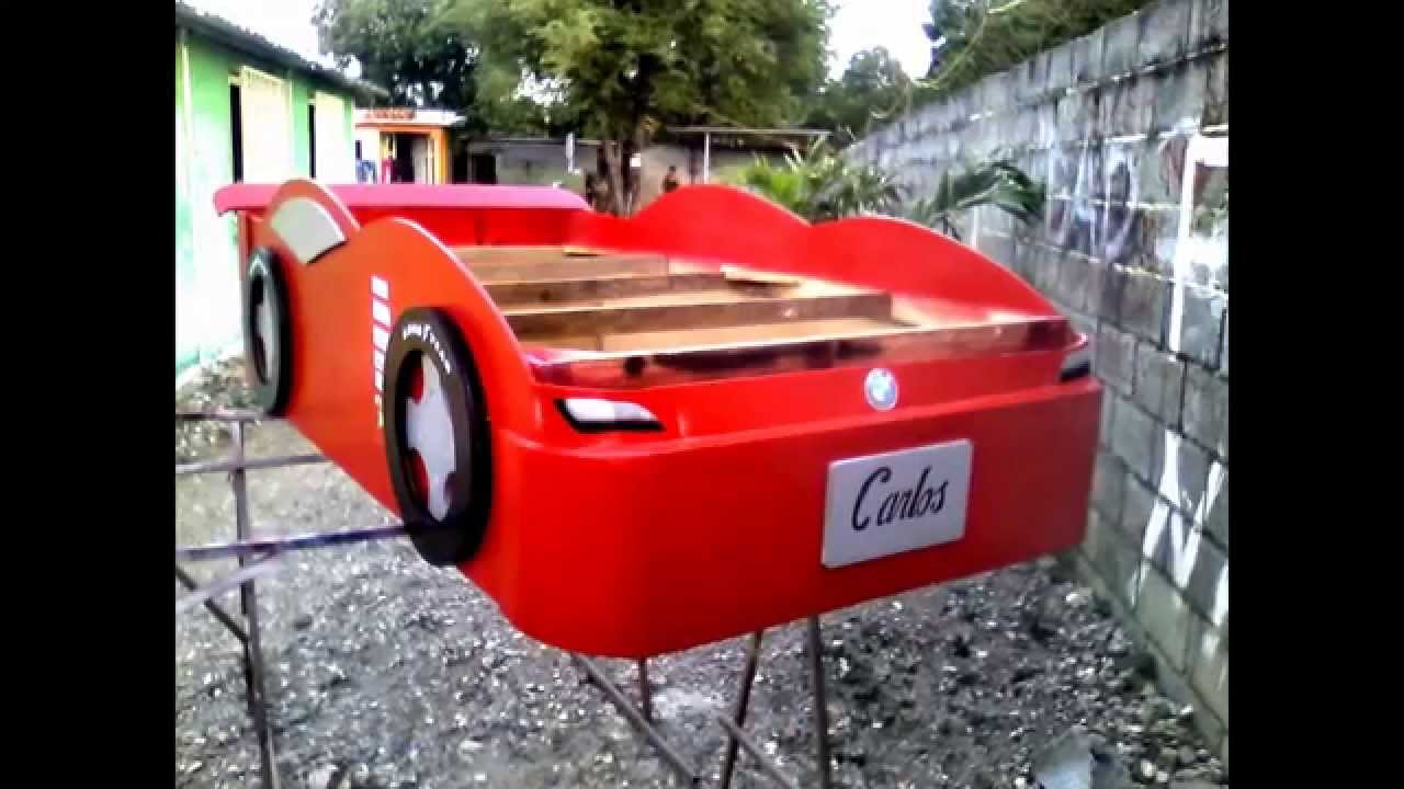 Cama para ni os carro the cars youtube - Cama coche cars ...