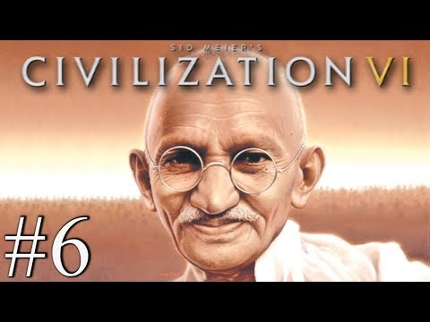 GANDHI LOVE NATION - Civilization VI - Religious Victory #6