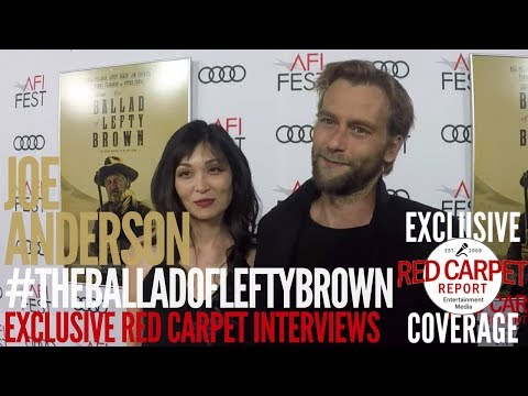 Joe Anderson ed at the Premiere of The Ballad of Lefty Brown AFIFEST