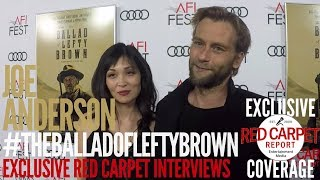 Joe Anderson interviewed at the Premiere of The Ballad of Lefty Brown #AFIFEST