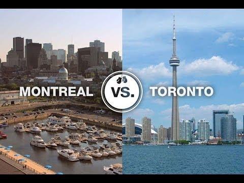 Канада 79: Сравнение городов для жизни: Монреаль и Торонто