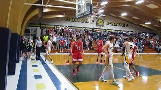 Monroe at Whiteford boys basketball
