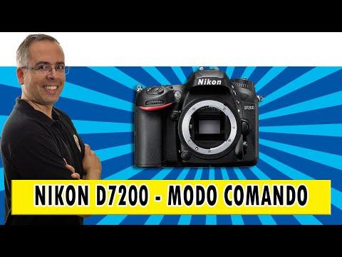 Como configurar o modo comando do flash pop up da sua DSLR Nikon D7200