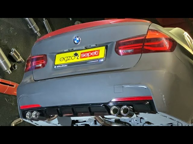 BMW F30 3.18 KUMANDALI PERFORMANS EGZOZ SESİ VE YAZILIM