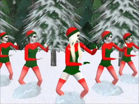 Christmas Tree  Lady Gaga ft space cowboy  Sims 2 HD