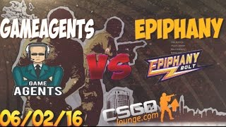 CSGO Lounge Betting Predictions - GameAgents vs Epiphany / ZefirTV Predicts