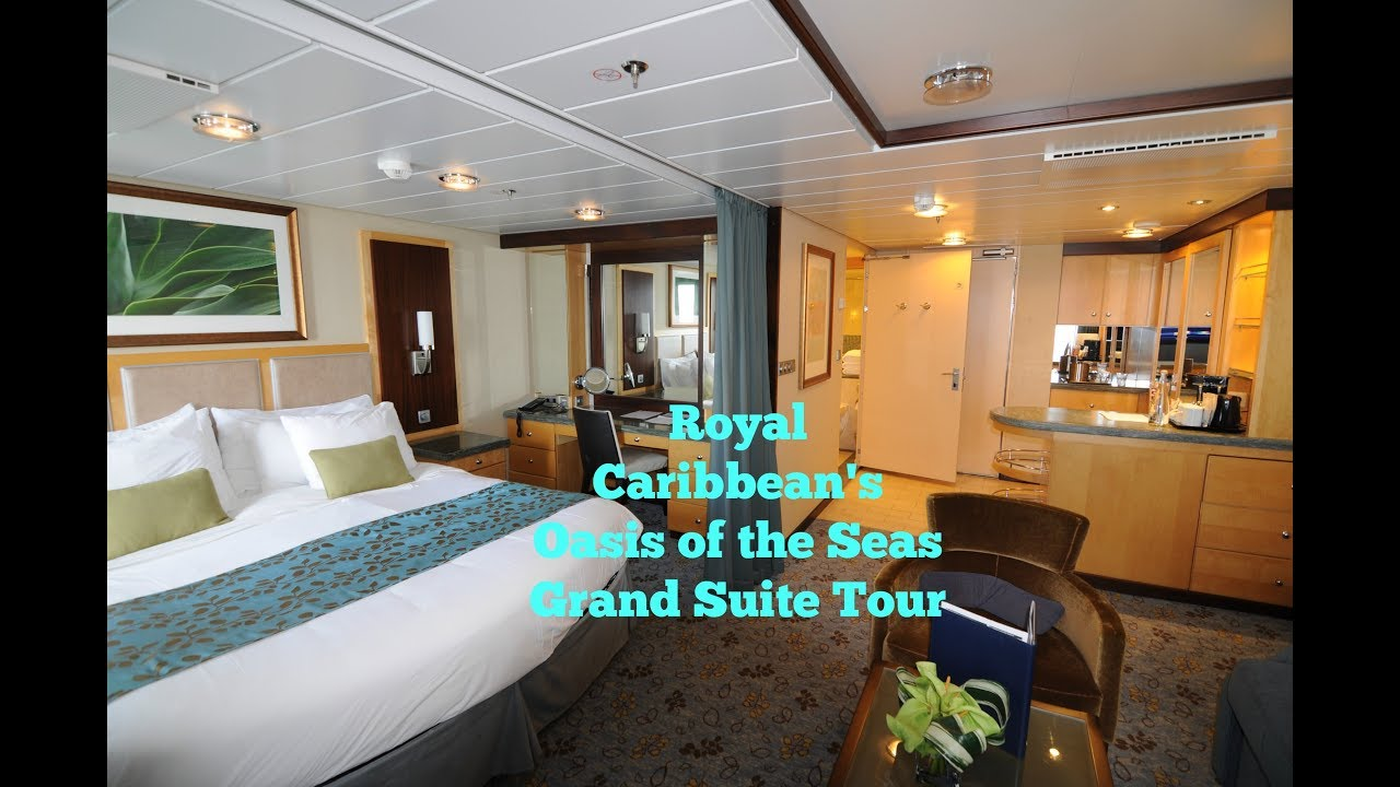 Royal Caribbean Oasis Of The Sea Grand Suite Tour Youtube