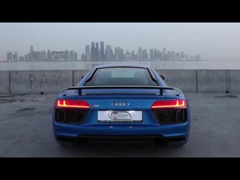 New 2017 R8 V10 Plus wakes up Doha