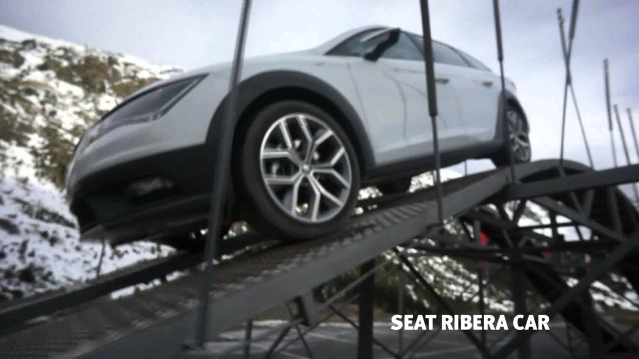 seat ribera car prueba el leon x perience youtube. Black Bedroom Furniture Sets. Home Design Ideas