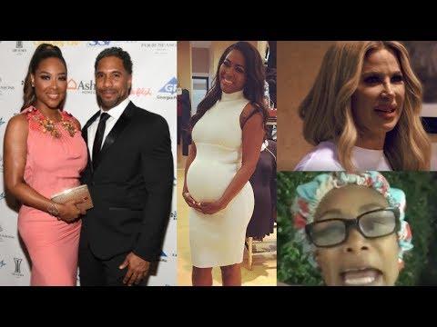 RHOA News: Kenya Moore Baby Bump Update Duck Lips Is Back & Tami Roman Hilarious RHOA Awards…