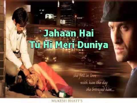Tu Hi Meri Gangster)Karaoke With Lyrics   YouTube