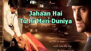 Tu Hi Meri Gangster)Karaoke With Lyrics YouTube