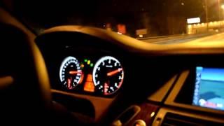 BMW X5 M по Москве. 300км\ч