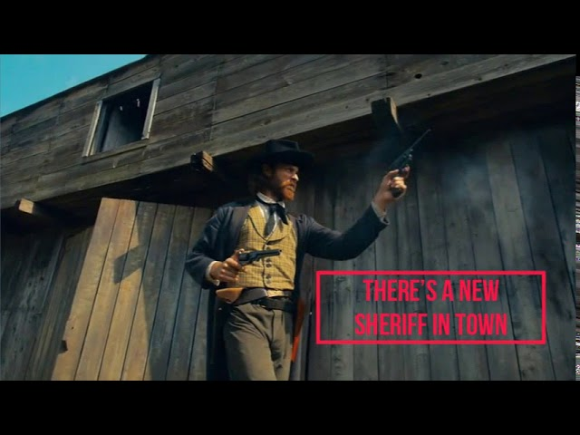 There's A NEW Sheriff In Town - Corrie D Marketing. It's No Longer The Wild West Out There!