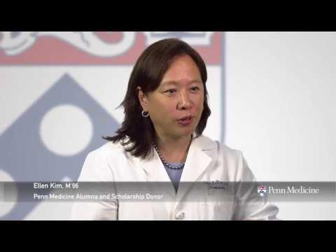 Support Scholarship at the Perelman School of Medicine: Dr. Ellen Kim