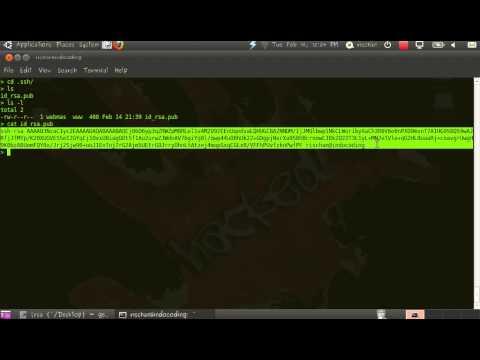 Login SSH Tanpa Password (RSA Private Public Key)