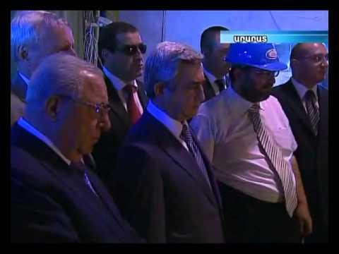YerkirmediaTV Report On Albion Project Launch At Ararat Plant