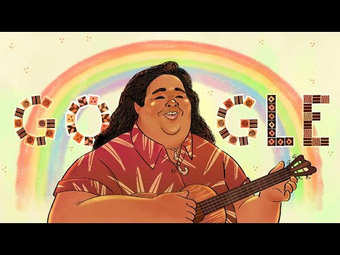 Google Celebrates Hawaiian Singer Israel Kamakawiwo'ole with ...
