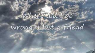 The Fray - How To Save A Life + Lyrics