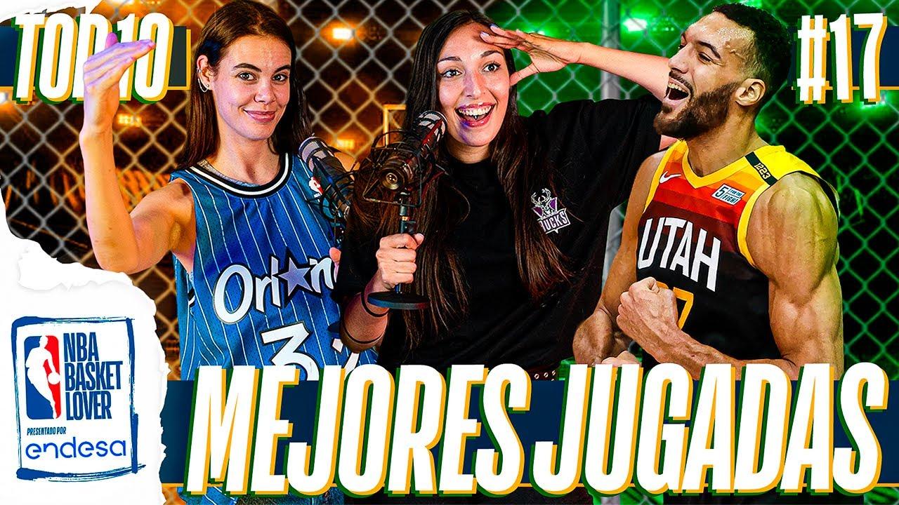 TOP 10 JUGADAS DE LA SEMANA #17 | #NBABasketLover